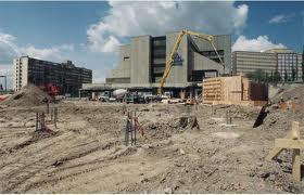 Baker Centre construction